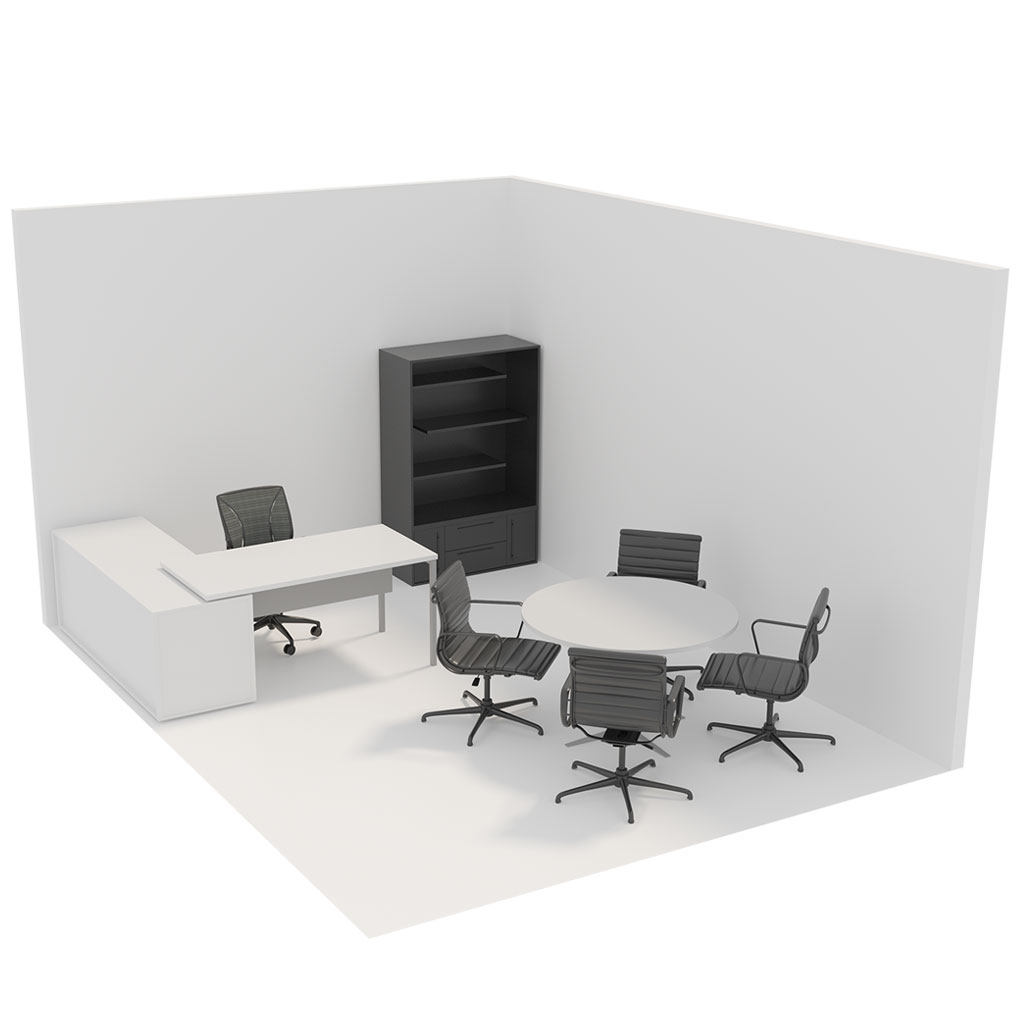 Office Plan, OFFICE - MEDIUM