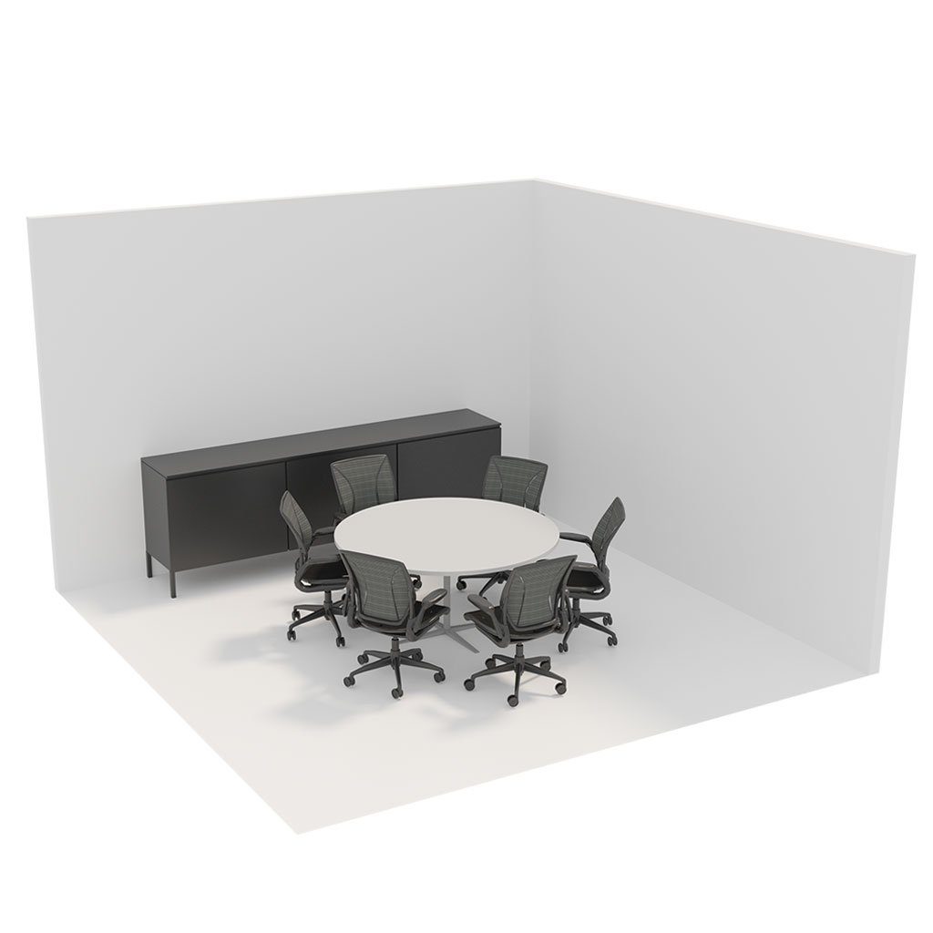 Office Plan, 6 PERSONS MEETING ROOM