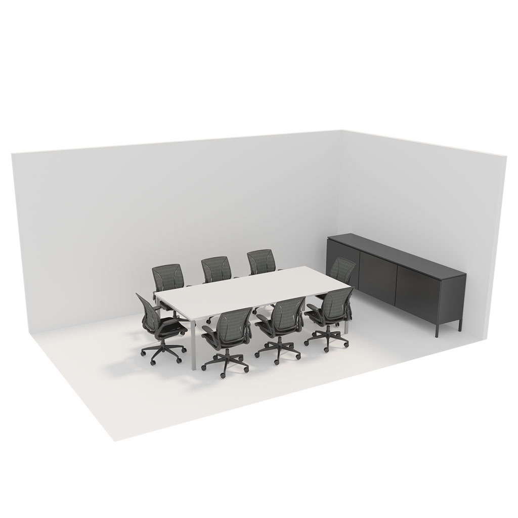 Office Plan, 8 PERSONS MEETING ROOM