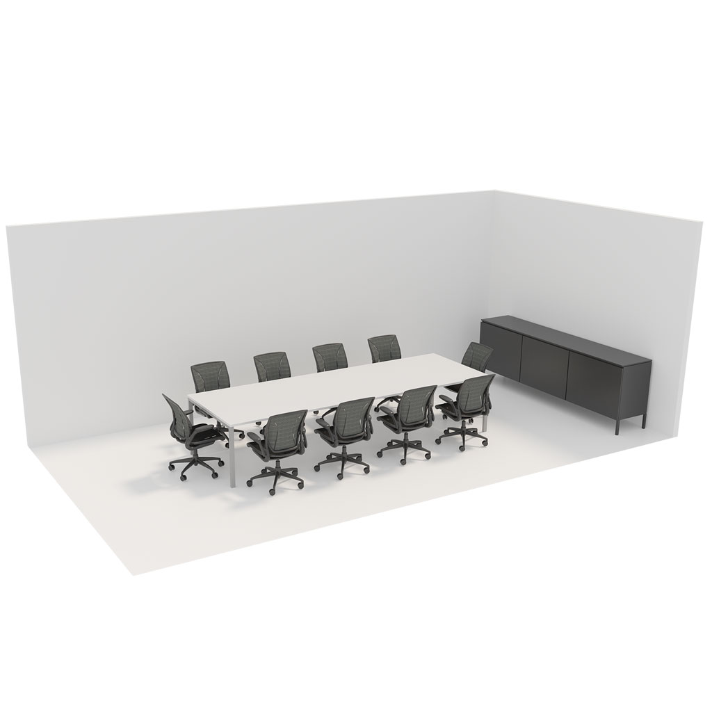 Office Plan, 10 PERSONS MEETING ROOM
