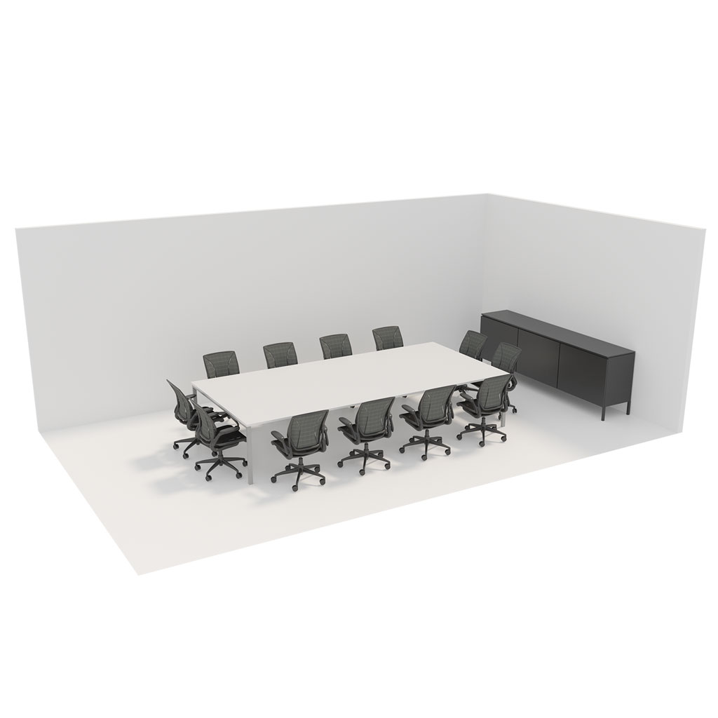 Office Plan, 12 PERSONS MEETING ROOM