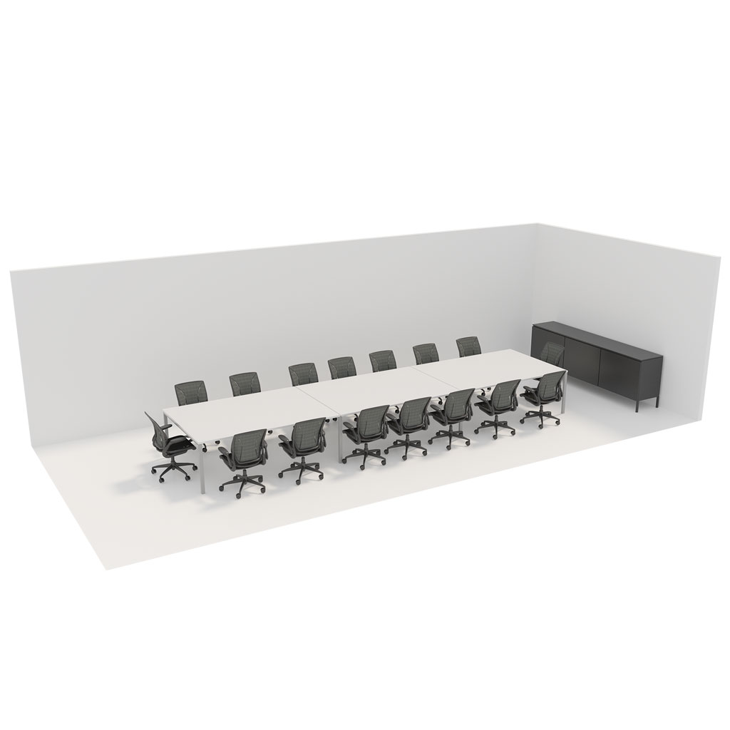 Office Plan, 16 PERSONS MEETING ROOM