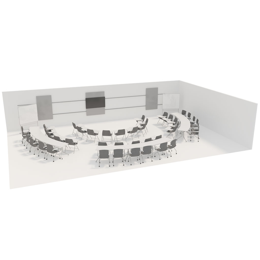 Office Plan, TRAINING ROOM FLEXIBLE - PER PERSON