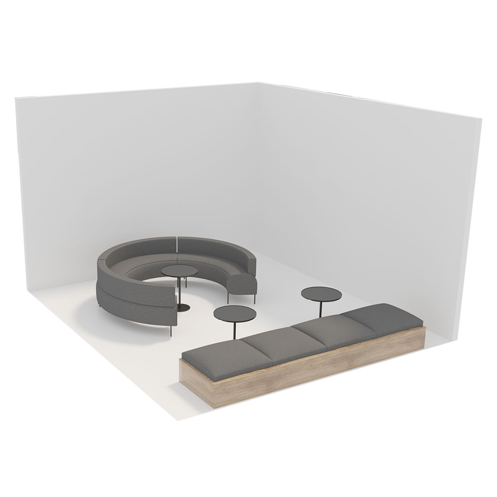 Office Plan, COLLABORATION AREA - SMALL