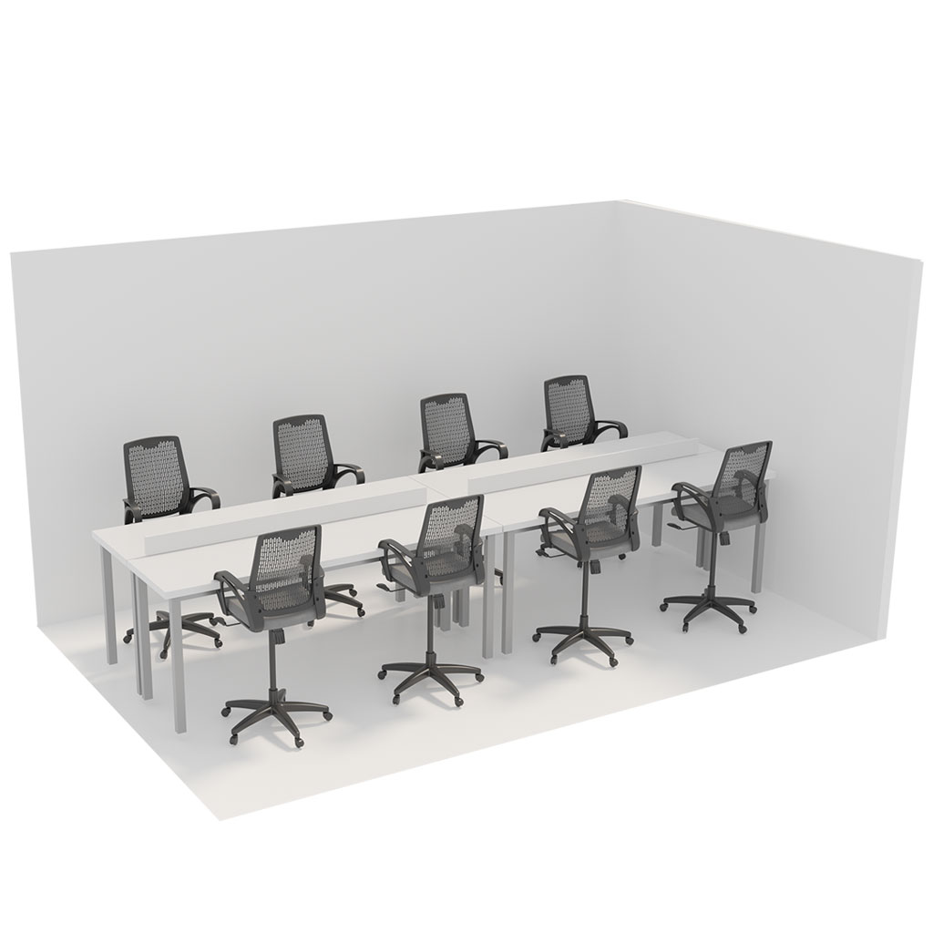 Office Plan, HOT DESKS STATION - PER PERSON
