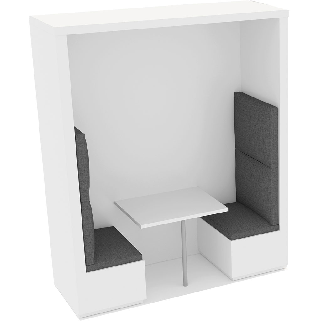 Office Plan, BANQUETTE BOOTHS 2 PERSONS - FULL HEIGHT