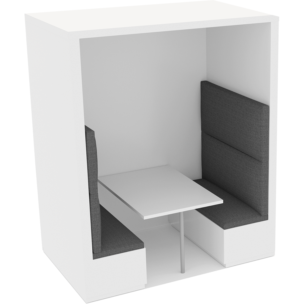 Office Plan, BANQUETTE BOOTHS 4 PERSONS - FULL HEIGHT