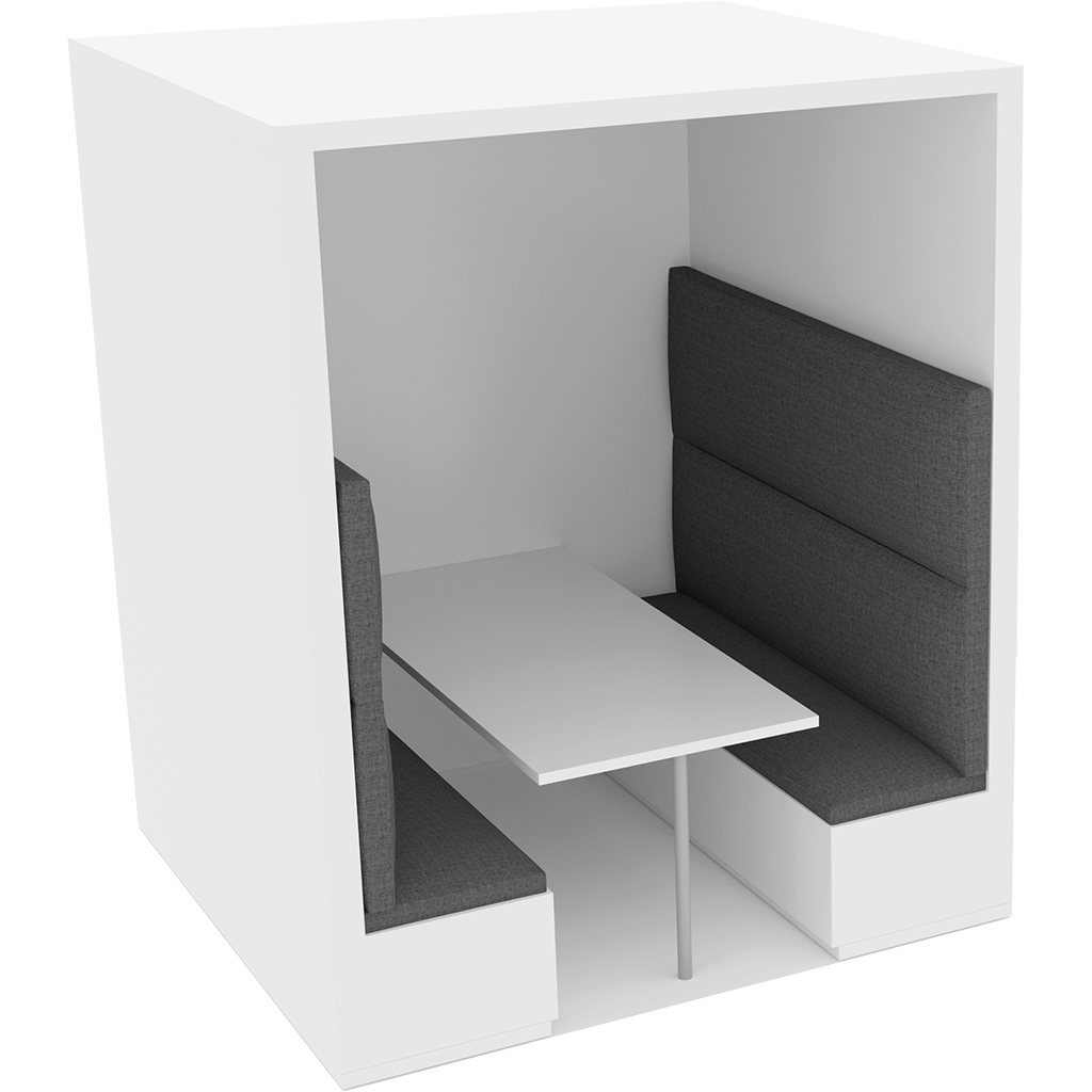 Office Plan, BANQUETTE BOOTHS 6 PERSONS - FULL HEIGHT