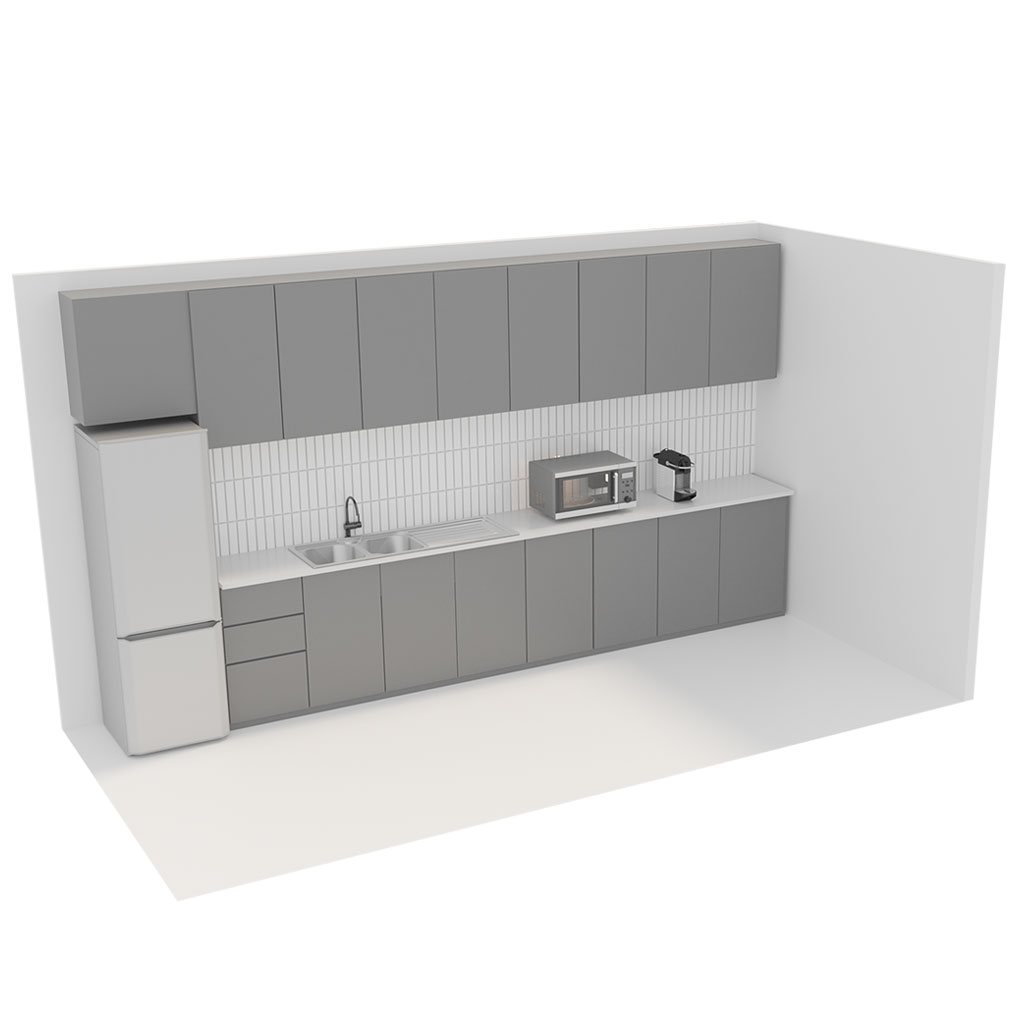 Office Plan, KITCHEN UNIT - SMALL