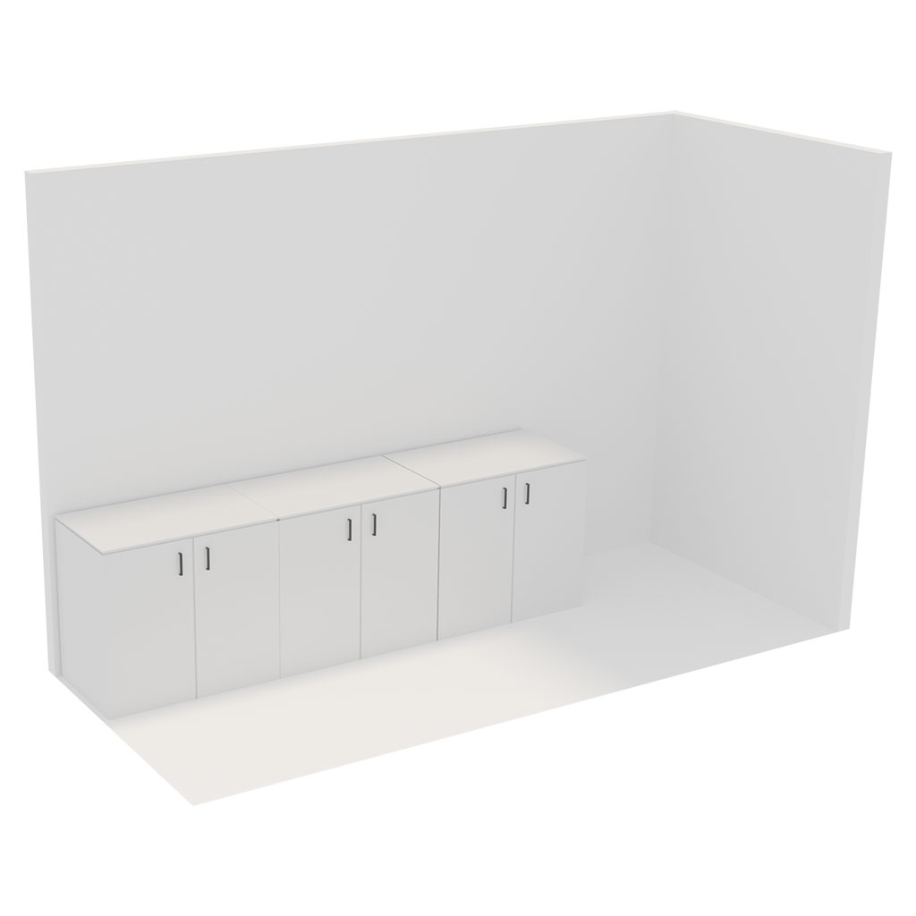Office Plan, STORAGE SMALL - EXCL. STORAGE RACKS