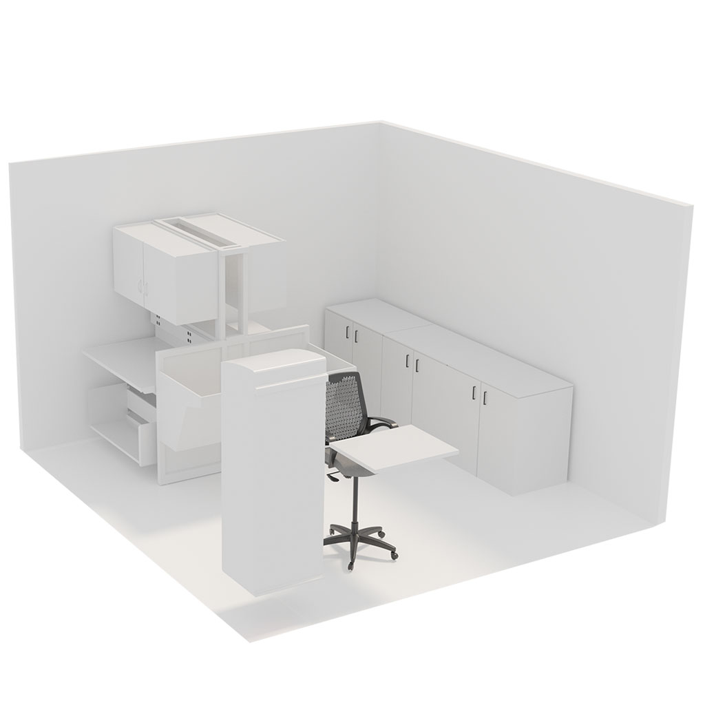 Office Plan, POST ROOM