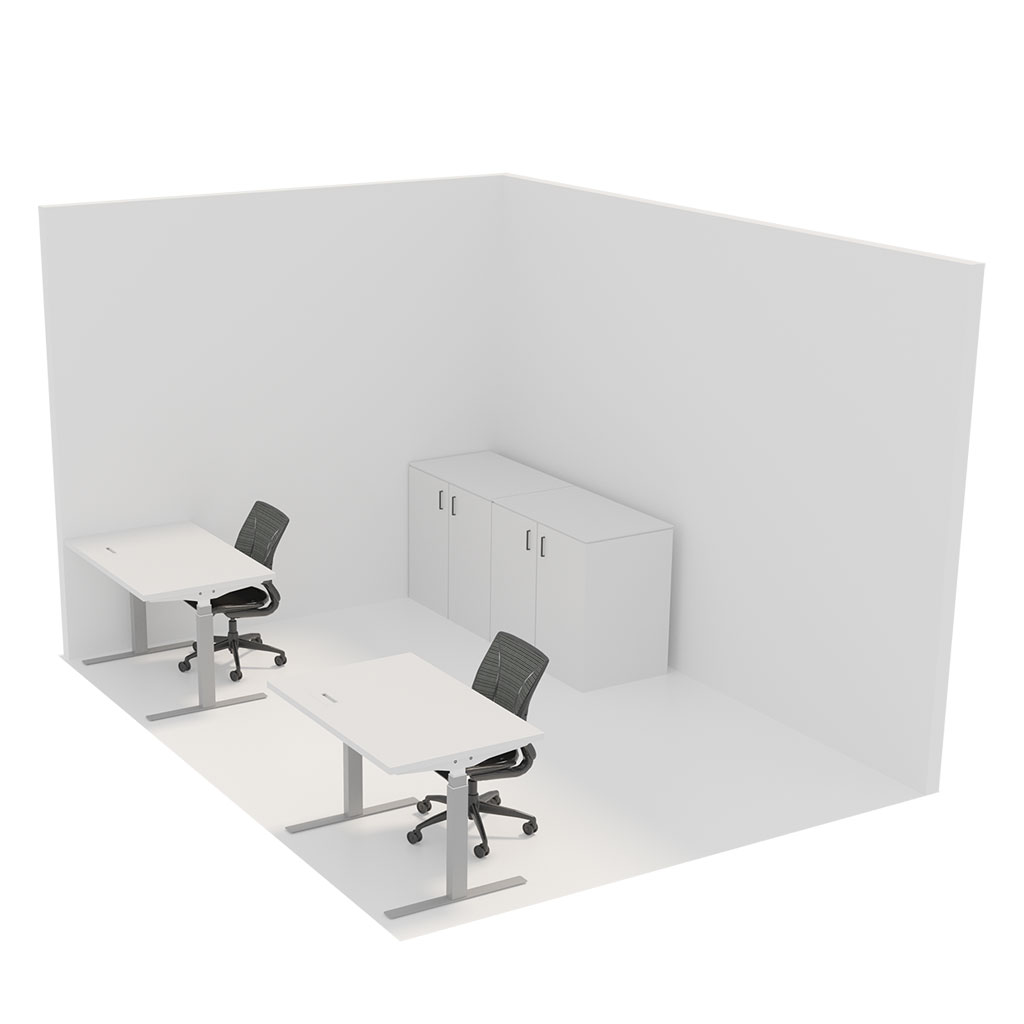 Office Plan, IT BUILD ROOM