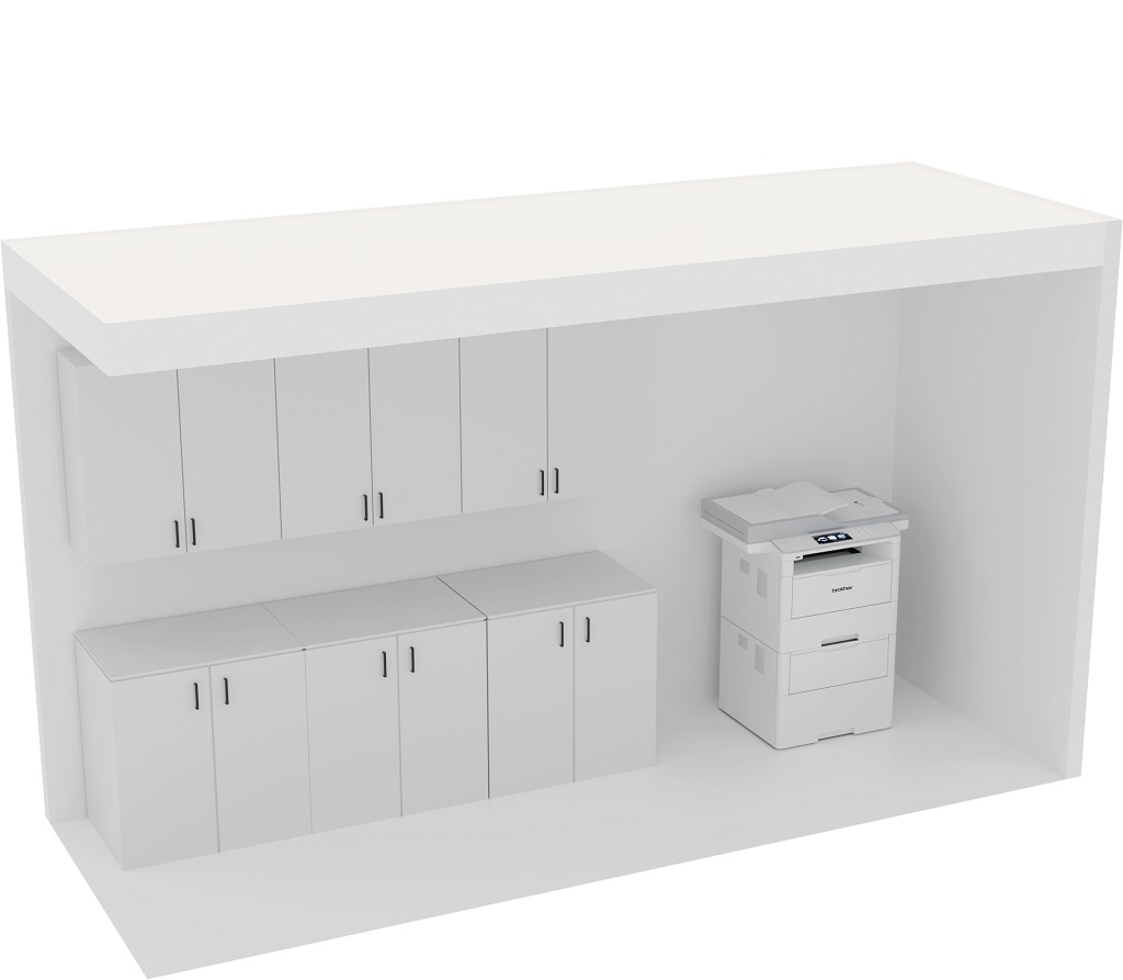Office Plan, PRINT/STORAGE UNIT
